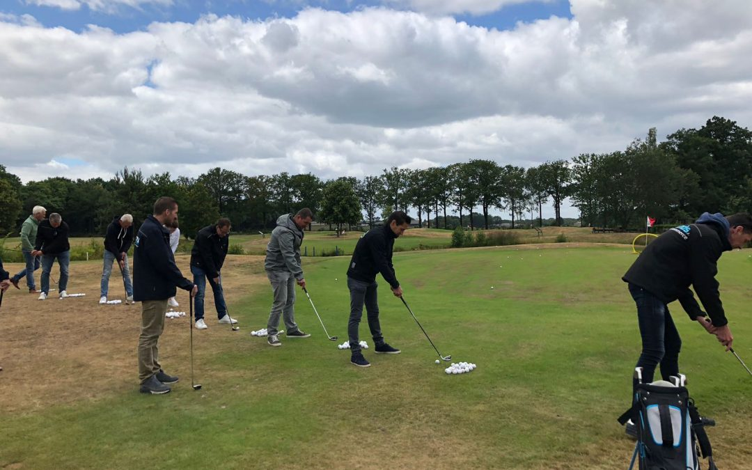 Golfclinic voor collega-ondernemers OVBRM