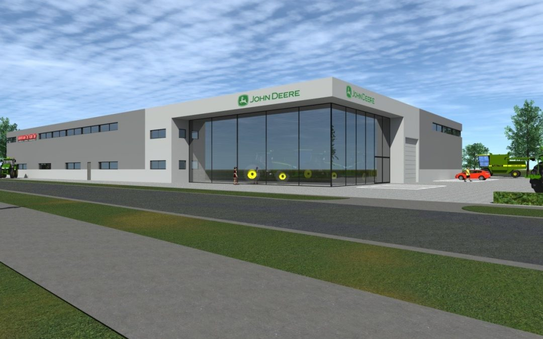 Landbouwmechanisatiebedrijf bouwt nieuwe vestiging op Kleine Hoeven
