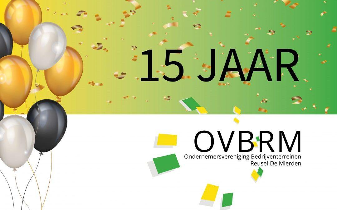 15 jaar OVBRM